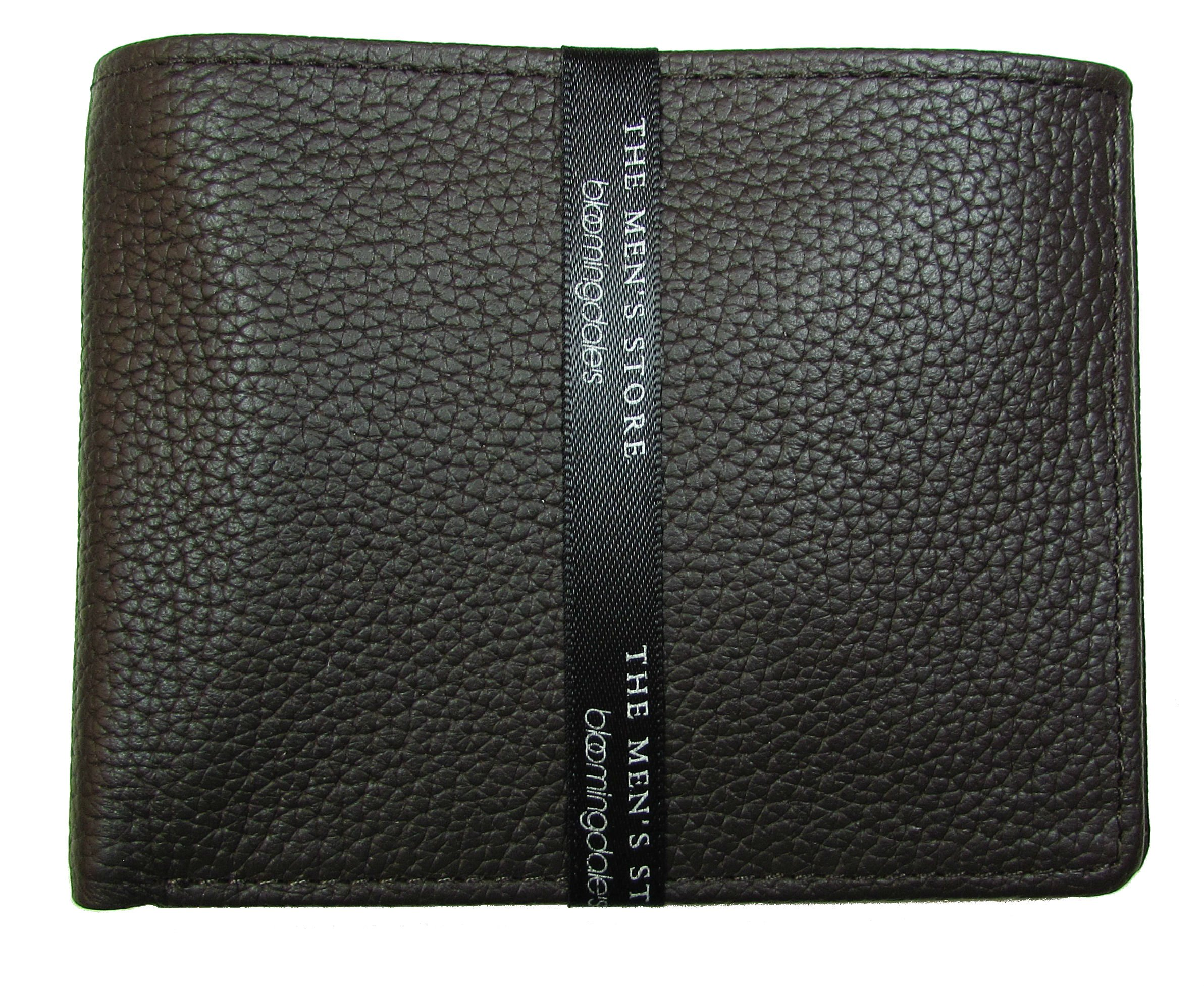 The Men's Store at Bloomingdale's Brown Leather Bifold Wallet (One Size, Brown)