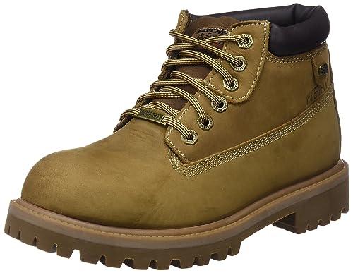 62ca2a53f2916 Skechers Sergeants Verdict 4442 DSCH - Botas de Cuero Nobuck para Hombre   Amazon.es  Zapatos y complementos