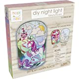 Hapinest DIY Fairy and Unicorn Night Light Arts and Crafts Kit for Girls Gifts Ages 5 Years and Up