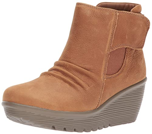 f69f8a641bb0 Skechers Women s Parallel-Fastened Ankle Bootie