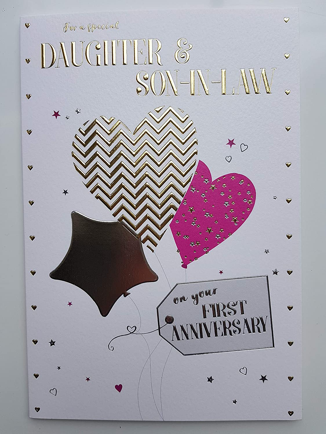 1st First Anniversary Cards