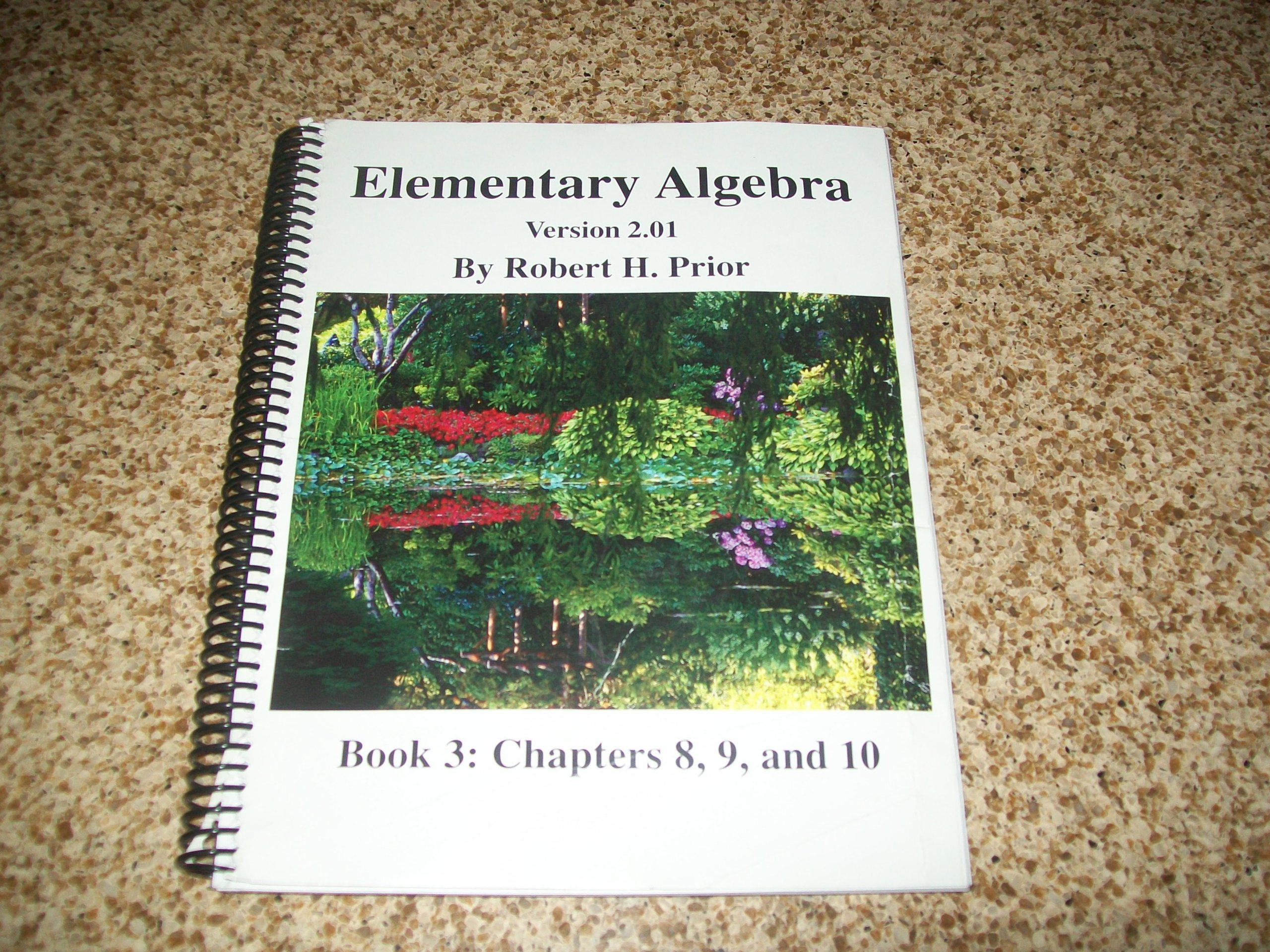 ELEMENTARY ALGEBRA VERSION 2.01 BOOK 3 CHAPTERS 8,9,AND 10 pdf