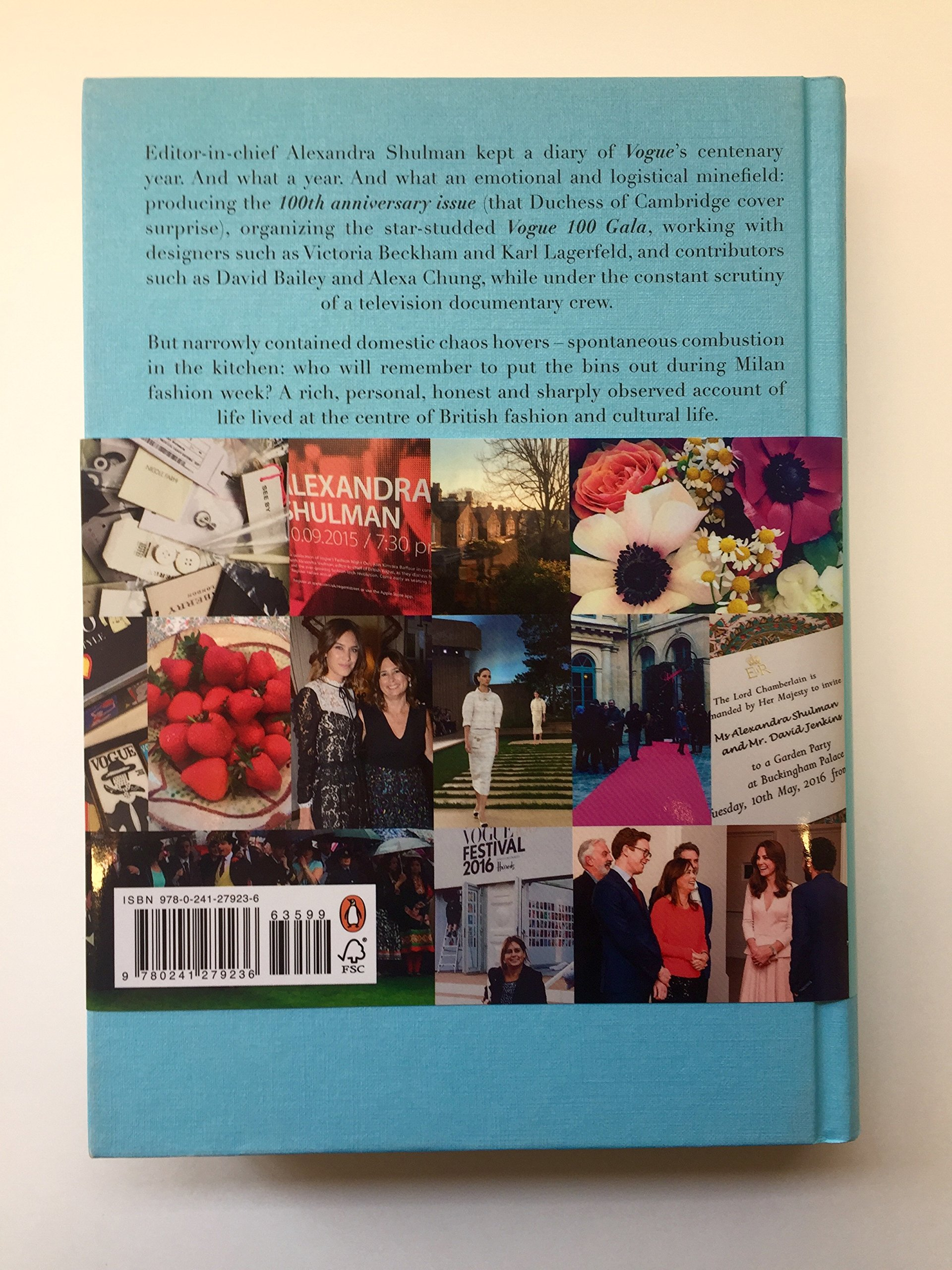 Inside vogue: a diary of my 100th year: amazon.co.uk: alexandra ...