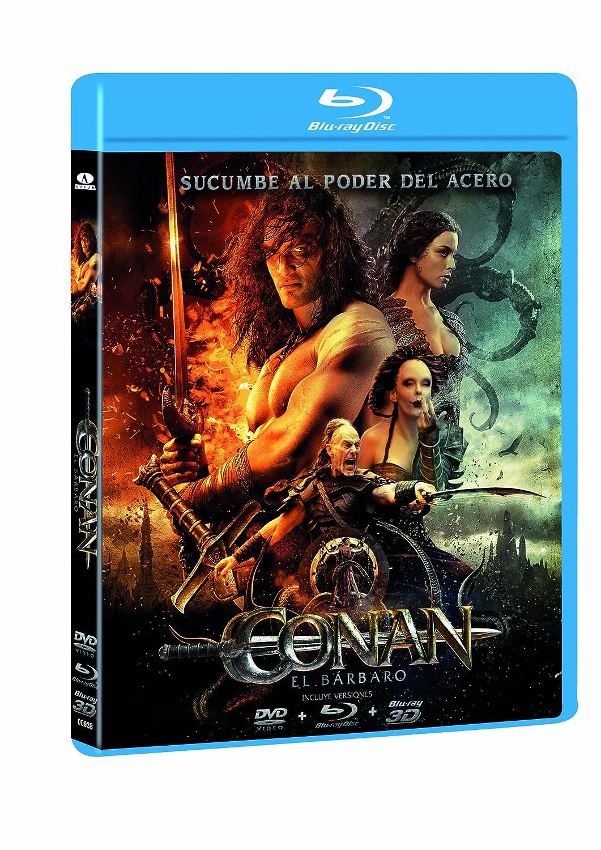 Conan El Barbaro (Bd Combo + 3D) [Blu-ray]: Amazon.es: Momoa ...