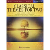 Classical Themes for Two Clarinets: Easy Instrumental Duets