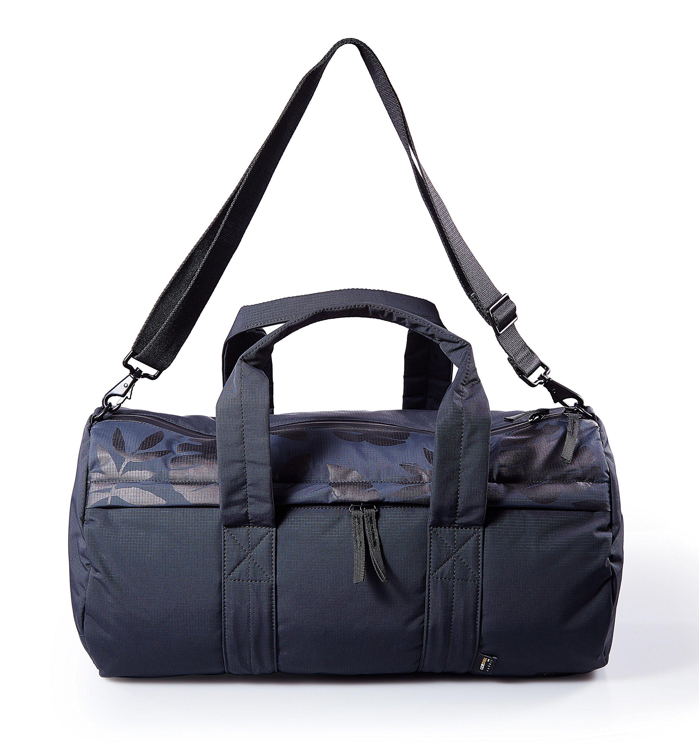 Steven Alan Waterproof Duffle Bag Kai Barrel Water resistant Duffle Bag for Men SAM205 Black Bag