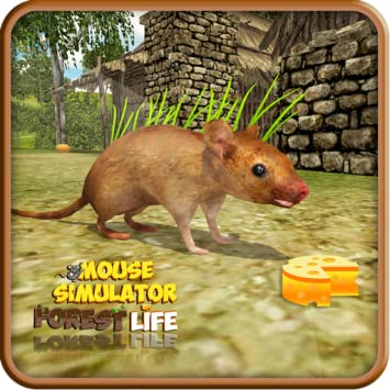 Amazon com: Crazy Mouse Simulator - Forest Life Adventure Game For