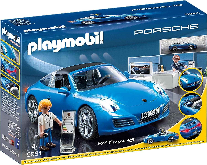 Amazon Com Playmobil Porsche 911 Targa 4s Toys Games