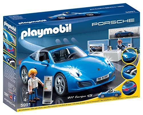 Playmobil 4365 Tuning Workshop And Car With Lights Amazon