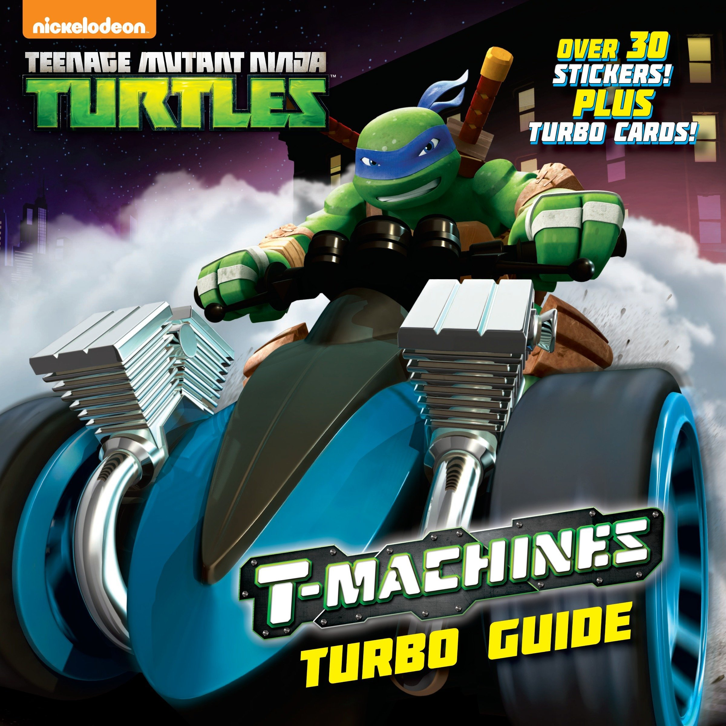 T-Machines Turbo Guide (Teenage Mutant Ninja Turtles ...