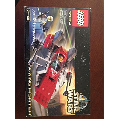 Star Wars Lego Kit 7134 - A-Wing Fighter: Toys & Games