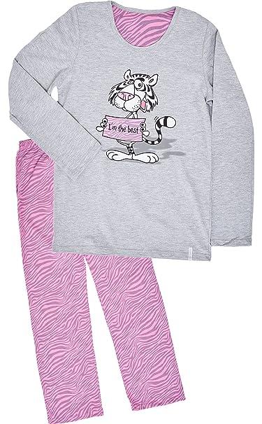 Cornette Niña Pijamas Conjunto Pijamas Niña Invierno Verano CR-552-Im-The-