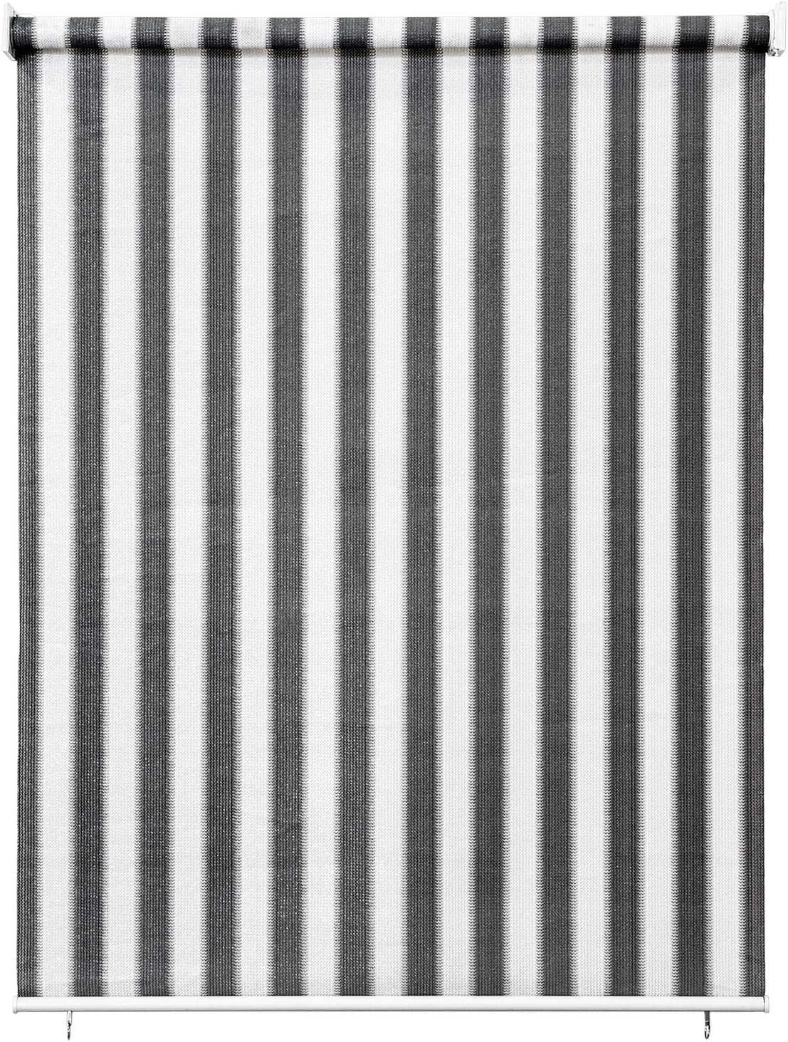 Jarolift Store Extérieur Vertical 200 X 240 Cm Largx Long Gris Blanc
