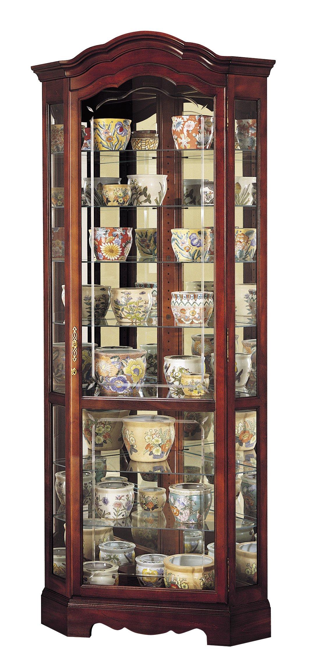 Howard Miller 680-249 Jamestown Curio Cabinet