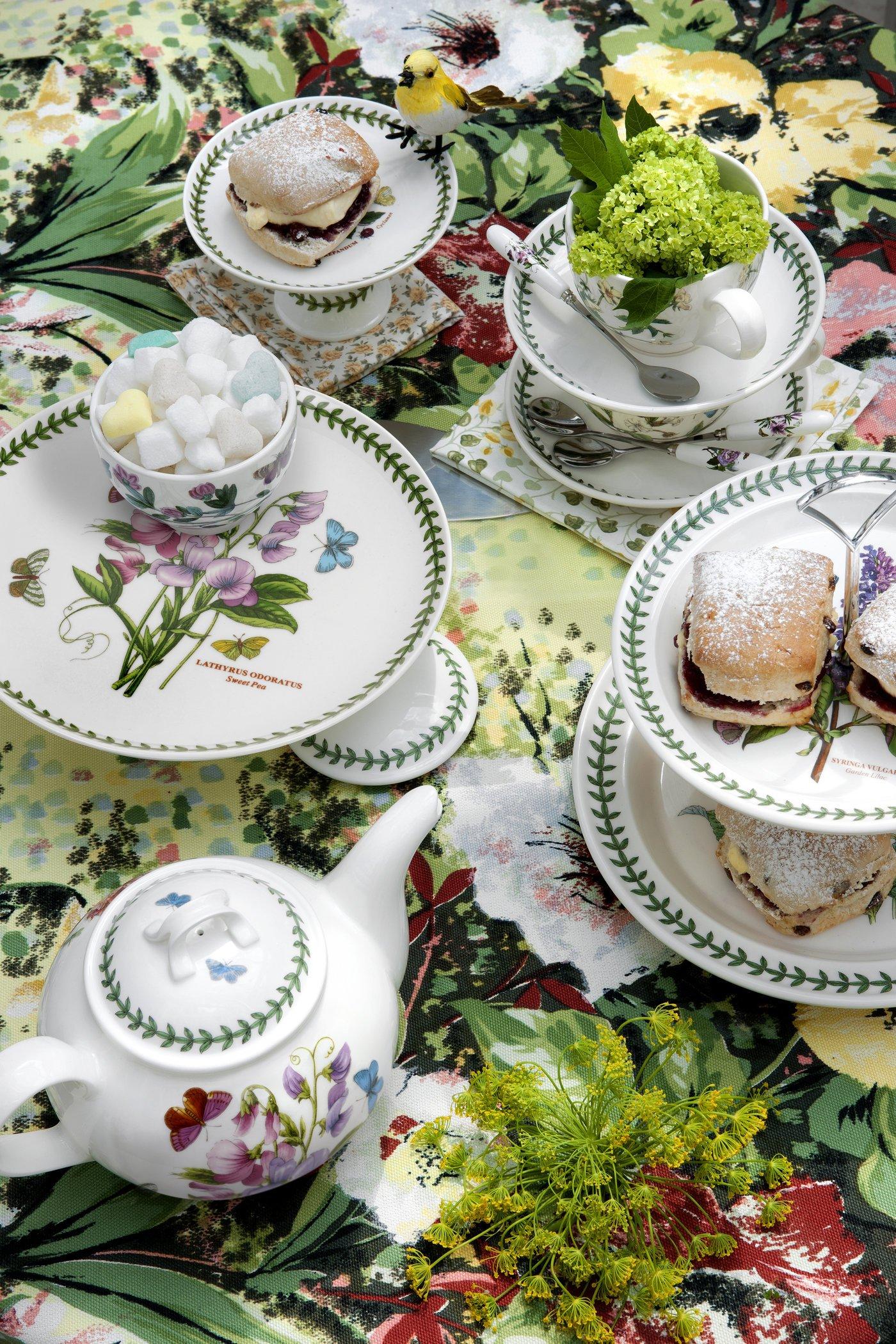 Portmeirion Botanic Garden Dinner Plates, Set of 6 Assorted Motifs by Portmeirion (Image #4)