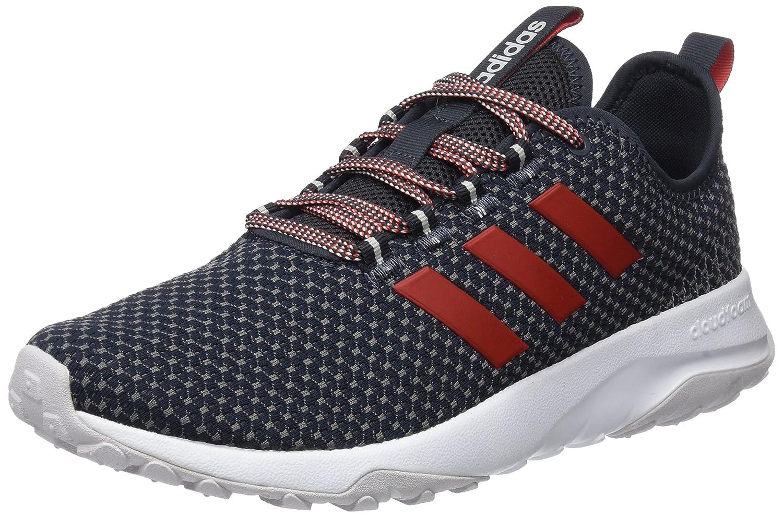 adidas Cloudfoam Superflex TR, Zapatillas de Gimnasia Para Hombre 44 2/3 EU|Gris (Carbon S18/Core Red S17/Grey Four F17)