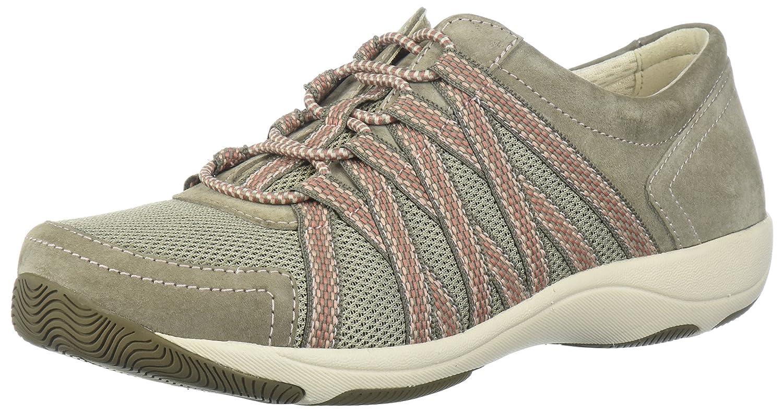 Dansko Women's Honor Fashion Sneaker B072YNS36V 40 Wide EU (9.5-10 US)|Walnut Suede