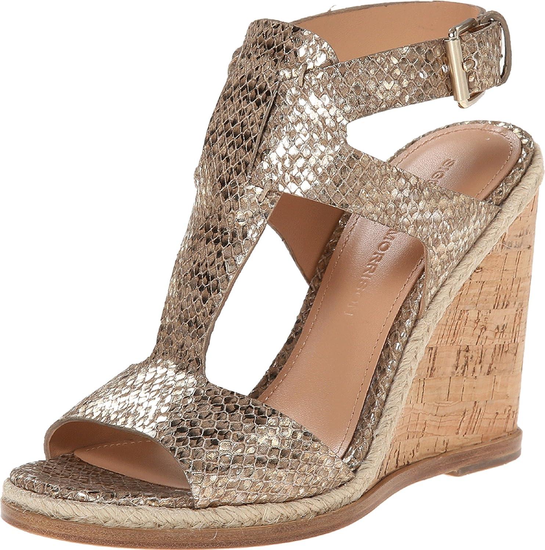Sigerson Morrison Women's Valina Wedge Sandals B00OPIN3CA 7.5 B(M) US|Terra