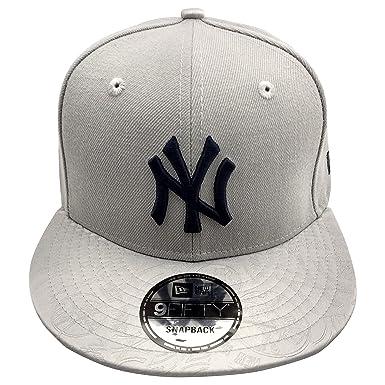 ... reduced new era new york yankees mlb mark mixer 9fifty snapback cap  grey 60ab9 79506 8e972122a794