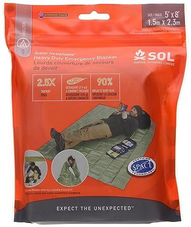 Amazon sol survive outdoors longer heavy duty emergency sol survive outdoors longer heavy duty emergency blanket publicscrutiny Gallery