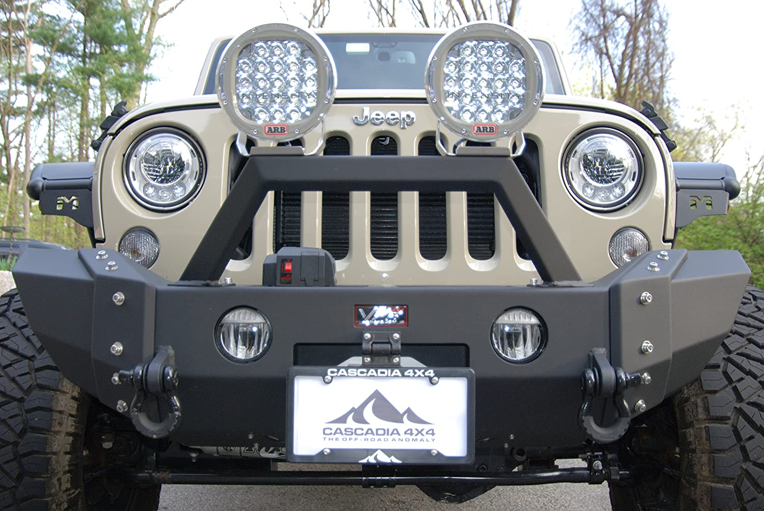etc Made in USA//Canada Trailer Hitch Flip up//Flip Down License Plate Mounting System for Winch Cascadia 4x4 Flipster Universal