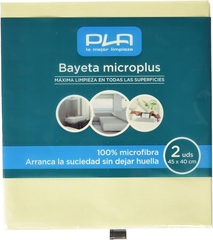 PLA 20672 Bayeta Micro Plus Pack de 2 Unidades
