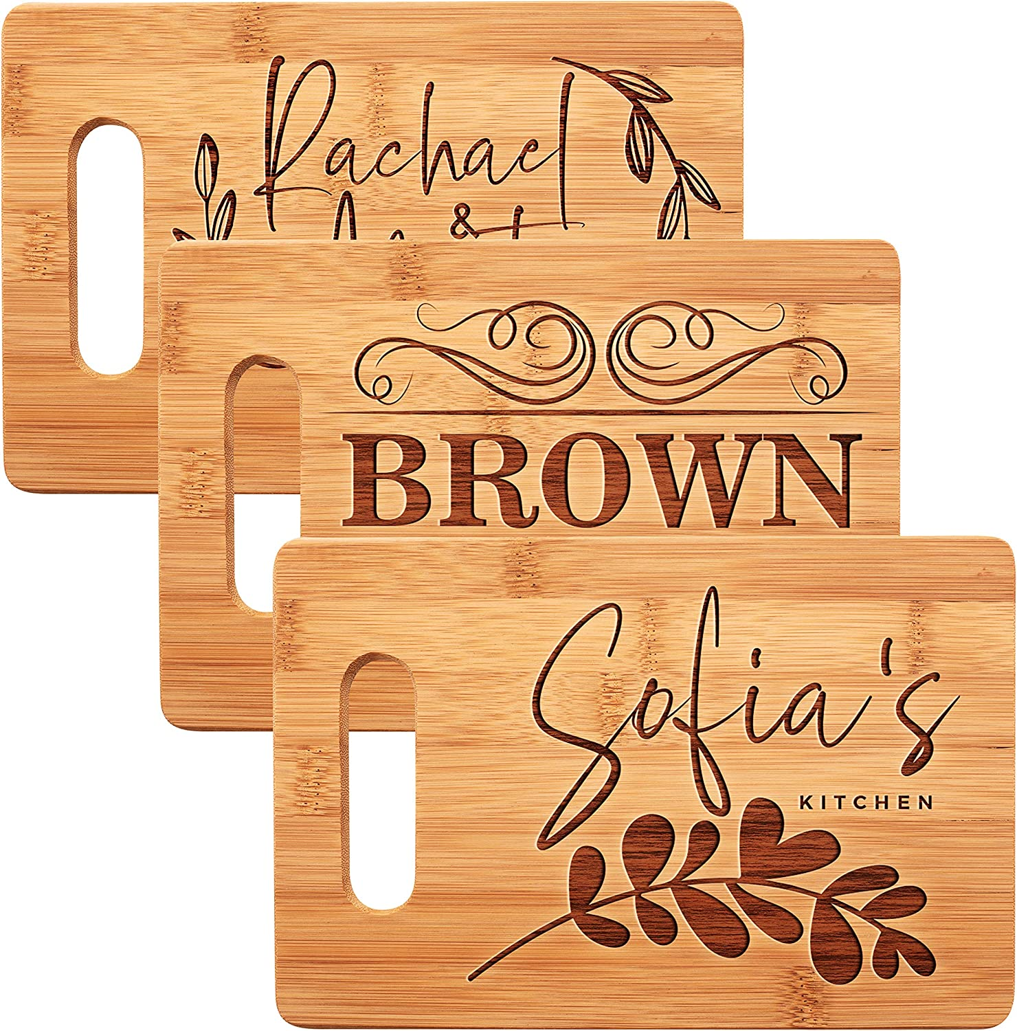 Personalized Cutting Board, 11 Designs,