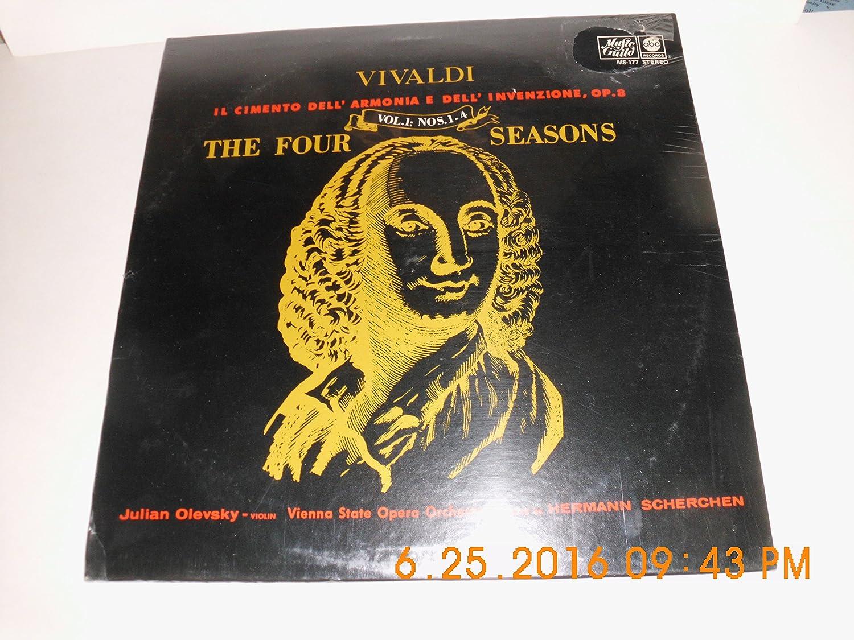 Vivaldi Il Cimento Dell' Armonia E Dell' Invenzione, Op. 8 the Four Seasons