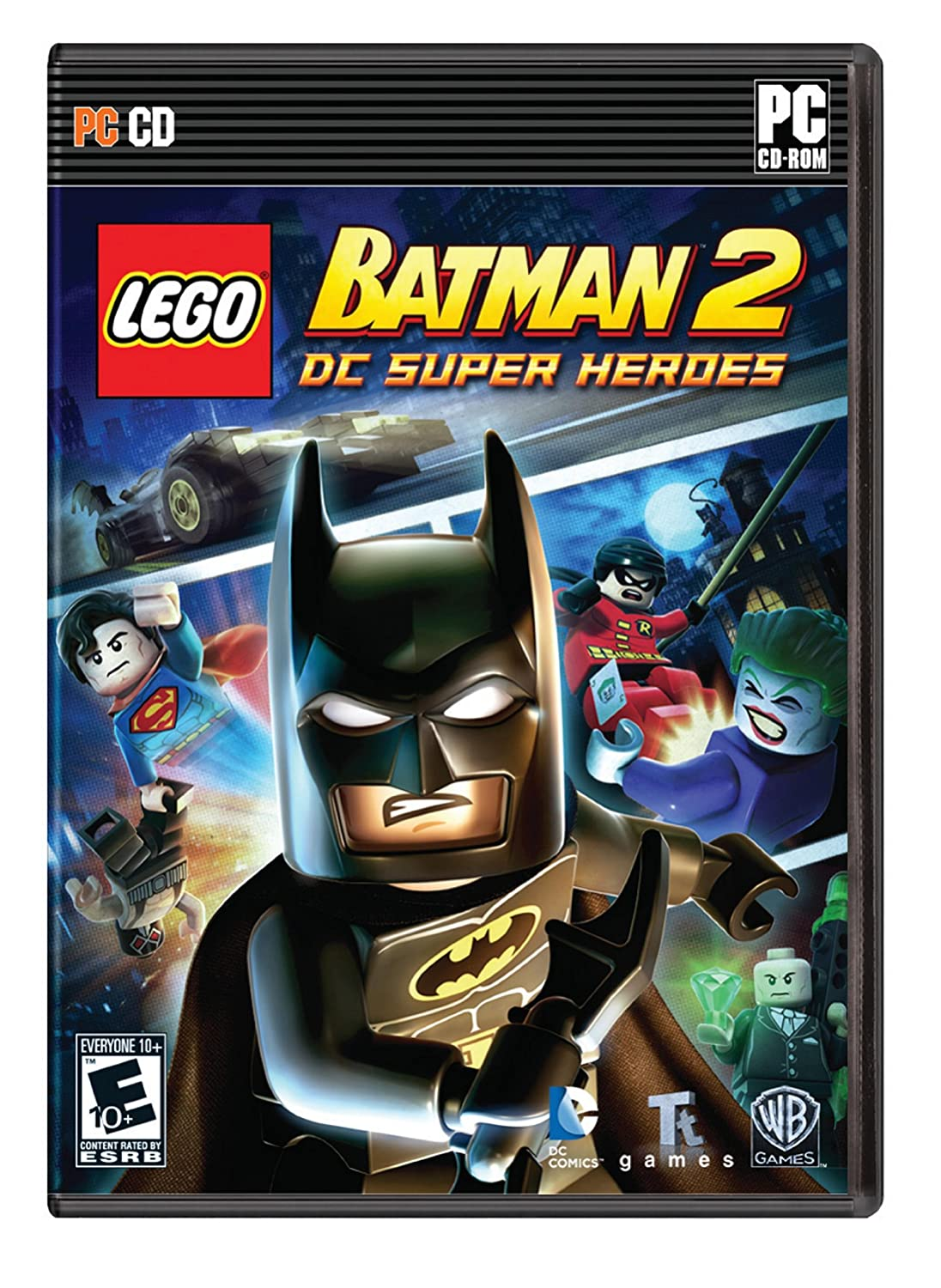Amazon Com Lego Batman 2 Dc Super Heroes Pc Video Games