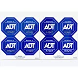 ADT Authentic Security Decals Window Stickers