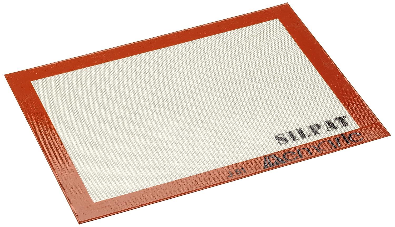 DeMarle Paderno Non Stick Silpat Silicone Baking Tray/Baking Mat 400 x 300mm 47680-40