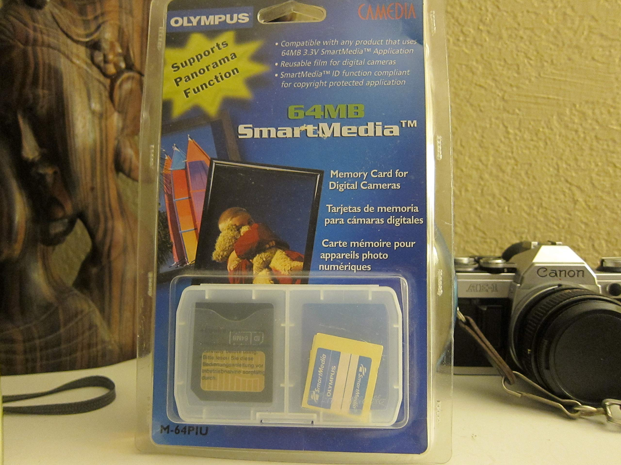 Amazon.com: Olympus SmartMedia Card 64MB: Computers ...