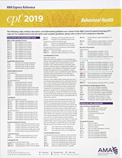 560a5117eeb8e ICD-10-CM 2019 Snapshot Coding Card - Psychiatry: 9781622028450 ...