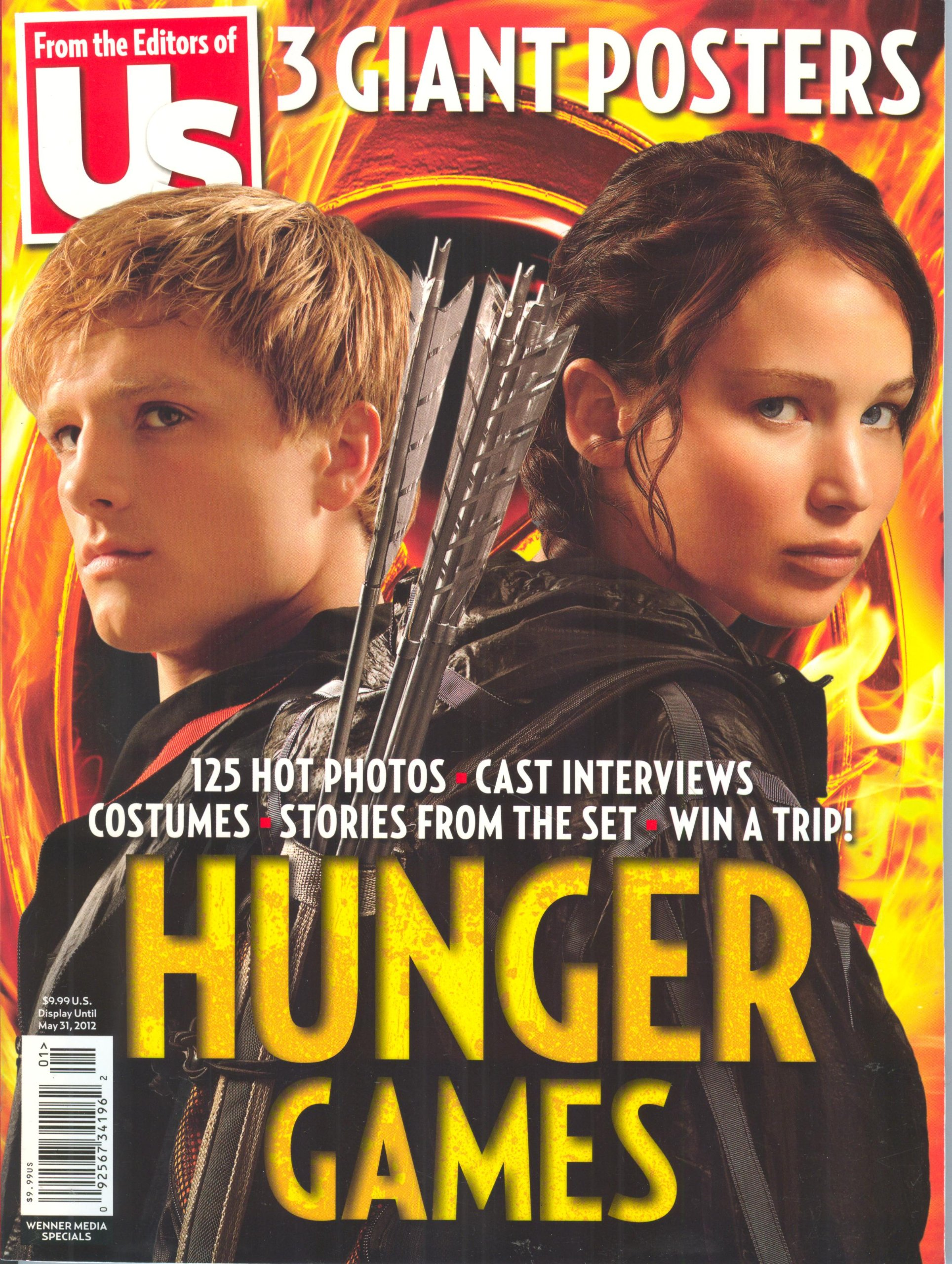 Us Magazine, Special The Hunger Games 2012 Collector's Edition. 125 Hot Photos, 3 Giant Posters, Us Magazine, The Hunger Games 2012 Collector's Edition. 125 Hot Photos, 3 Giant Posters
