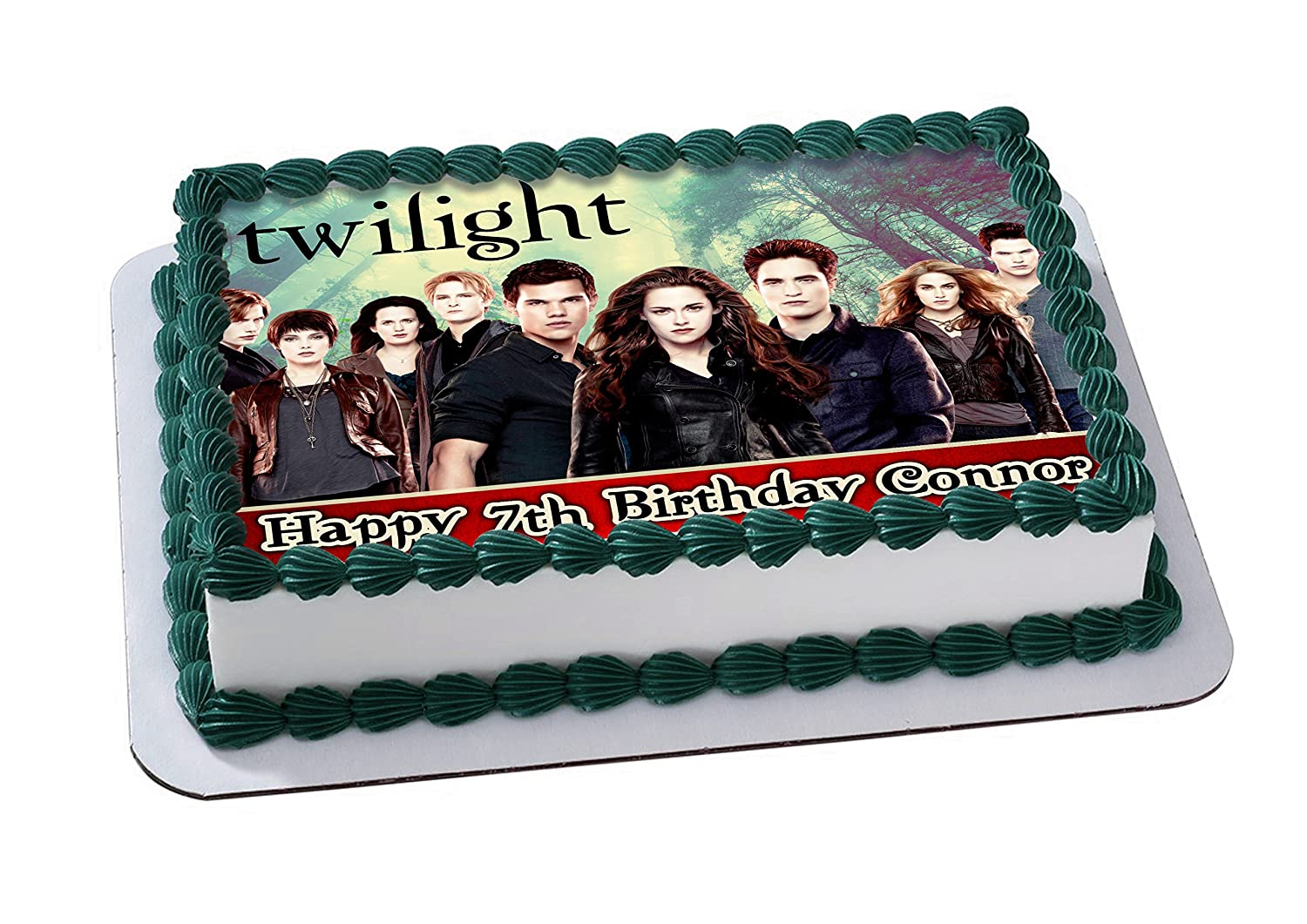 Twilight Edible Cake Topper Personalized Birthday 14 Sheet
