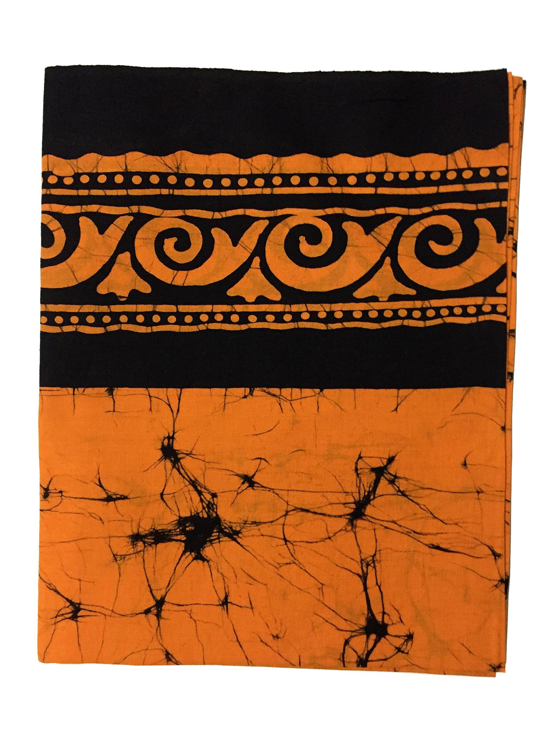 Batik Sarong Lungi 100% Cotton Tube Sarong (Yellow)
