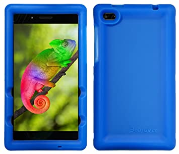 BobjGear Bobj Carcasa Resistente para Tablet Lenovo Tab 7 Essential TB-7304F, TB-7304I, TB-7304X - (Azul)