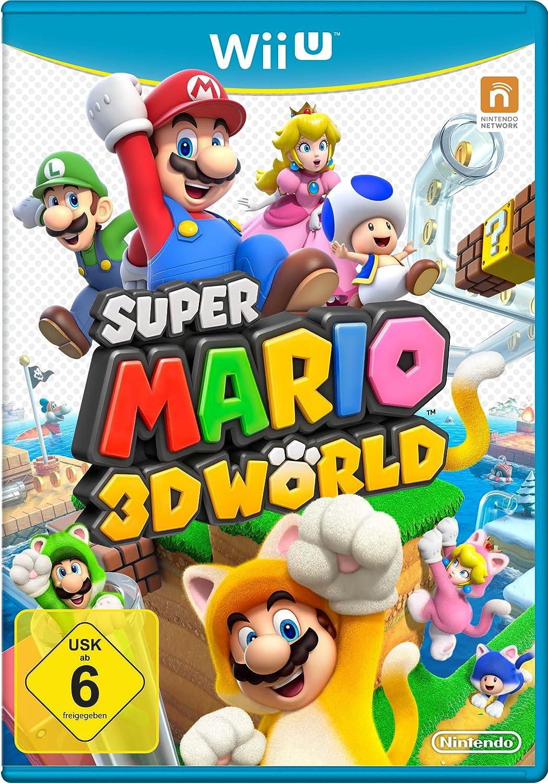 Nintendo Super Mario 3D World - Juego (Wii U, Plataforma, Nintendo, Nintendo, E (para todos), Básico)