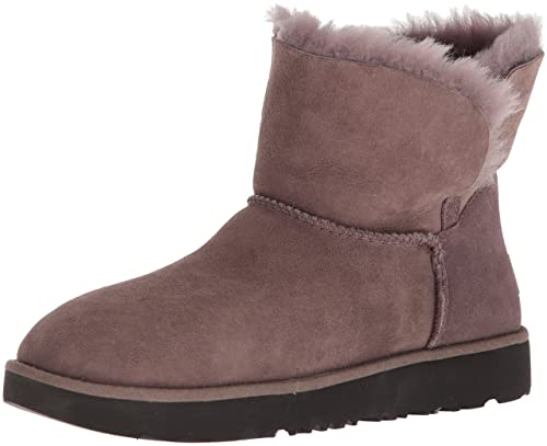 67f55fec322 UGG Women's Classic Cuff Mini Winter Boot