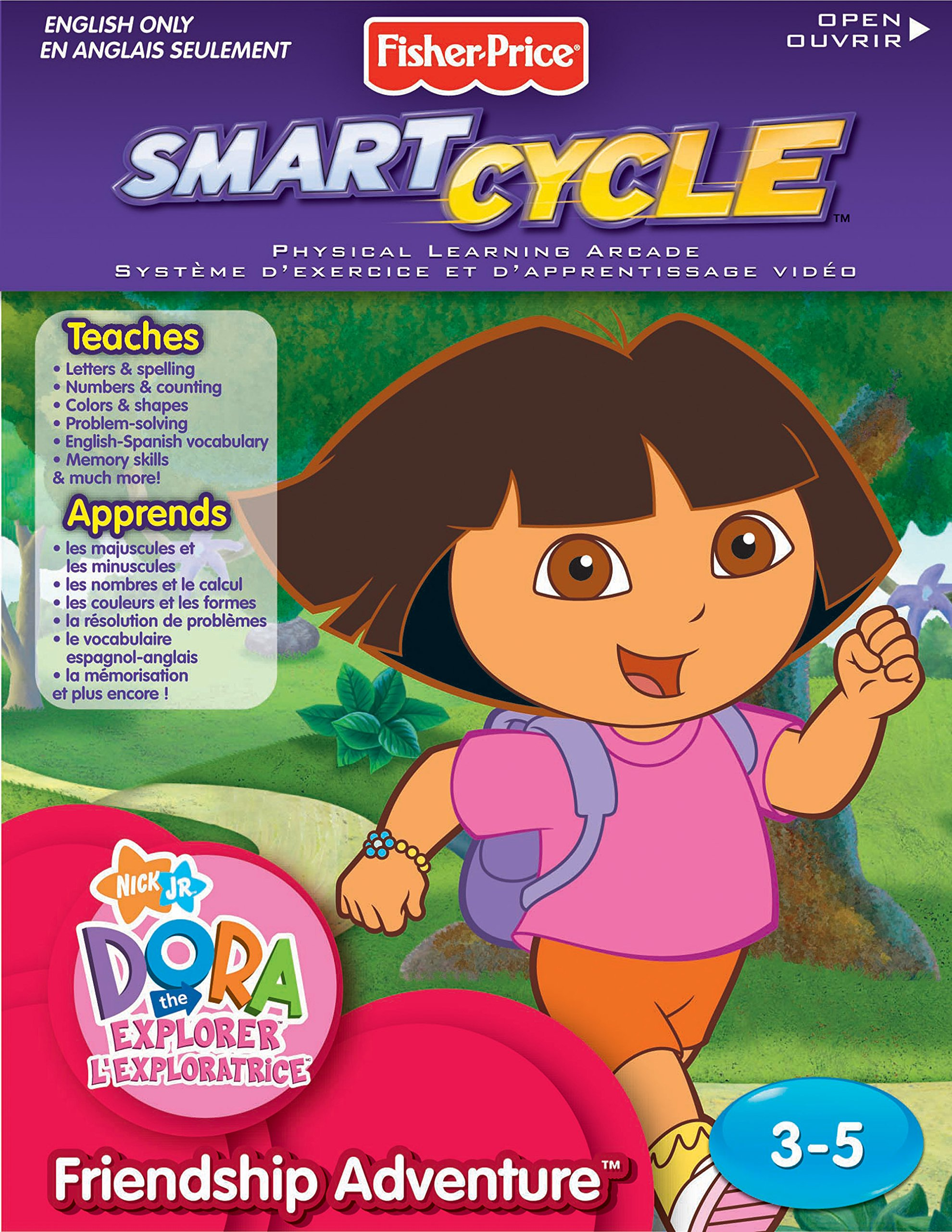 Fisher-Price Smart Cycle [Old Version] Dora Friendship Adventures Software Cartridge by Fisher-Price
