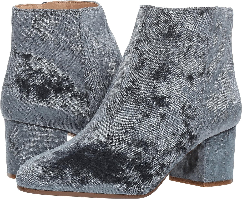 Steve Madden Women's Irina Ankle Boot B0721TRFZM 7 B(M) US|Blue Velvet