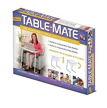 Table Mate TM011104 Folding Table (White)