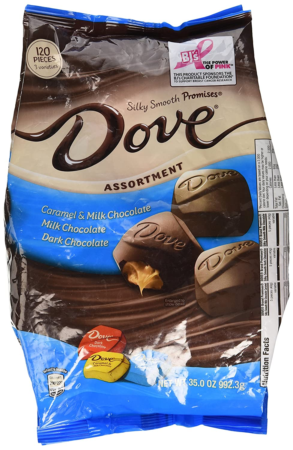 Amazon.com : Dove Assortment, Caramel, Milk Chocolate, Dark ...