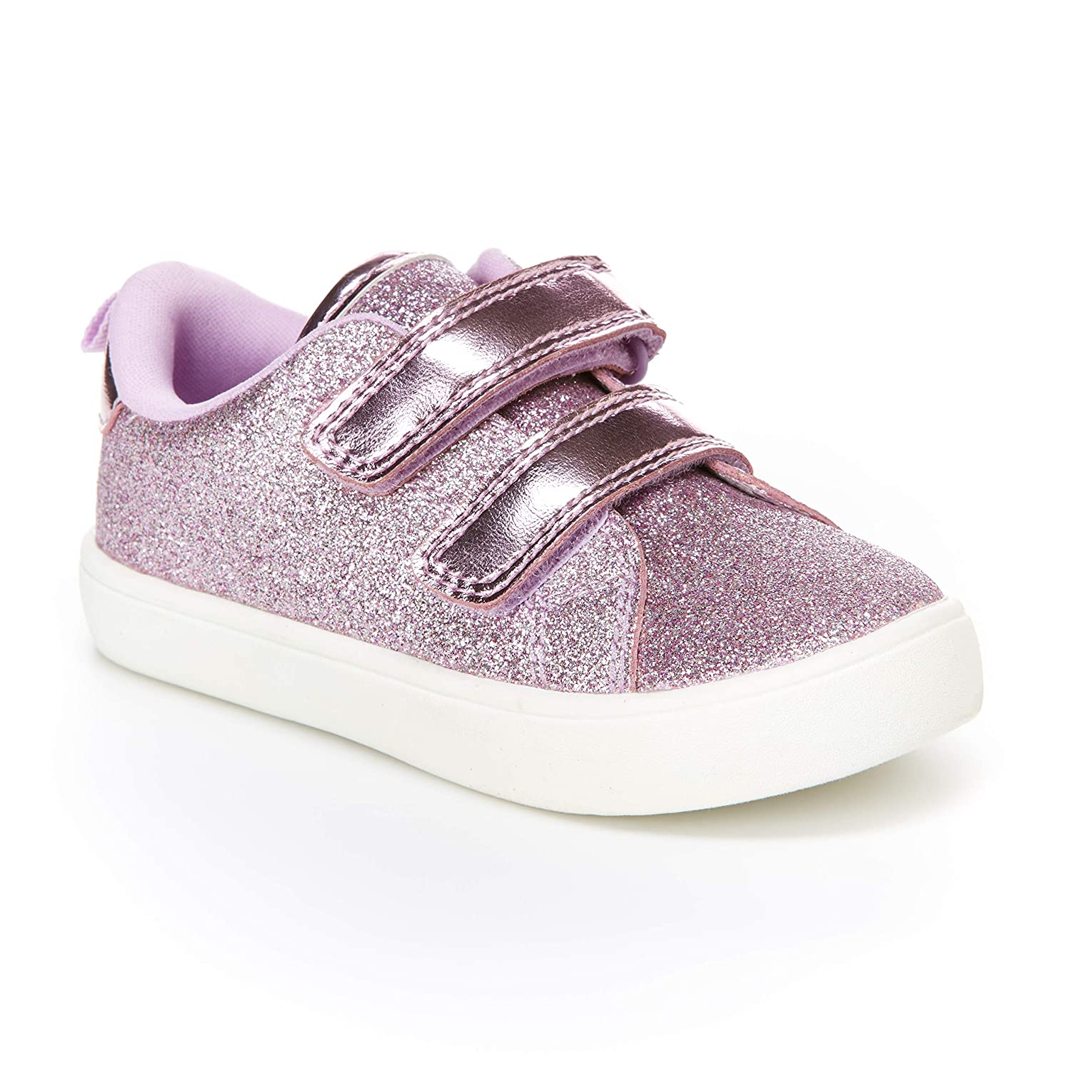 Carters Kids Girls Darla Casual Sneaker with Double Adjustable Strap