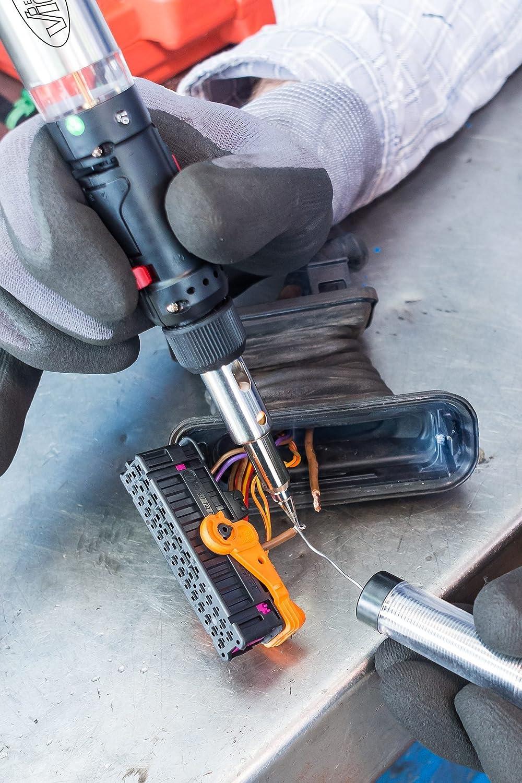 Vigor Gas Soldador Juego de (7 adaptadores diferentes, combina Soldador, grabadora y heißluftfön, 12 piezas) V5512: Amazon.es: Bricolaje y herramientas