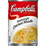 Campbell's Condensed Soup, Home Style Chicken Noodle, 10.5 Ounce (Pack of 12)