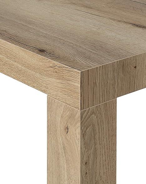 Table Console Extensible Modele Atena Chene De Sapin Naturel