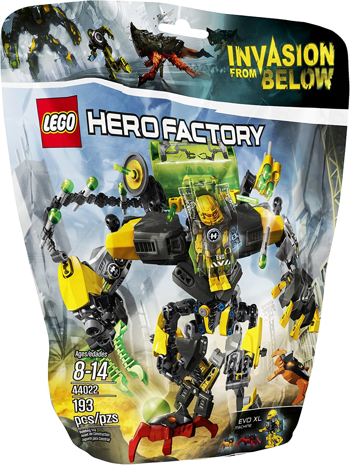 LEGO Hero Factory 44022 EVO XL Machine