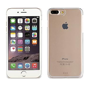Muvit Crystal - Carcasa Transparente para Apple iPhone 8 Plus/7 Plus/6S Plus/6 Plus