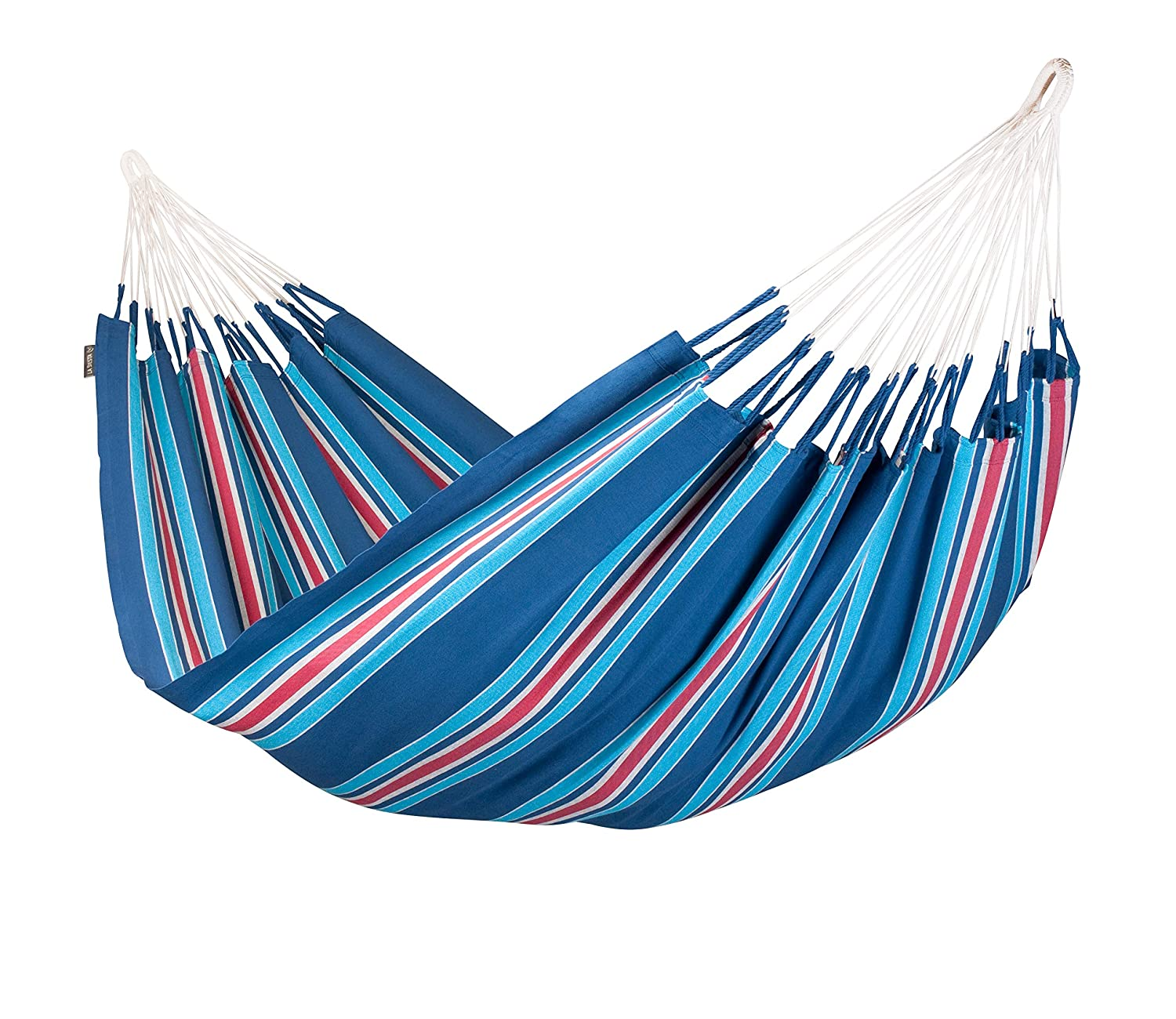 LA SIESTA Currambera Blueberry – Cotton Double Classic Hammock